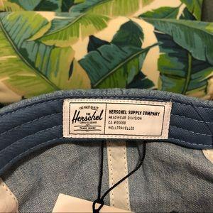 Herschel Supply Company Accessories - New Herschel Albert / baseball denim cap /hat